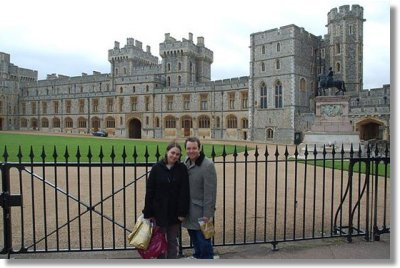 The Fontana's at Windsor Castle