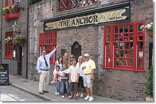 Peter West talks about the history of the Anchor